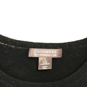 Charter Club Sweaters - Charter Club Black Cashmere Sweater